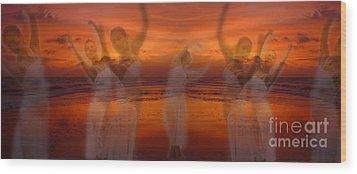 Eternal Dance Wood Print by Jeff Breiman