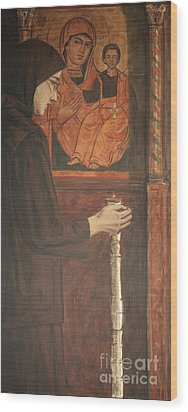 Eternal Light Wood Print by Olimpia - Hinamatsuri Barbu