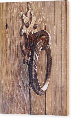 Eternal Progress Wood Print by Arie Van der Wijst