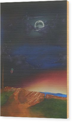 Eternity Wood Print by Richard    J Thorpe