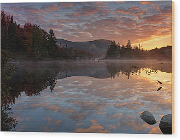Wood Print featuring the photograph Ethereal Reverie by Mike Lang