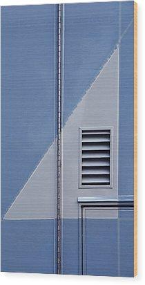 Euclidean Photography II Wood Print by KM Corcoran