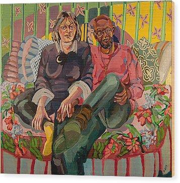 Eugene And Joanna Wood Print