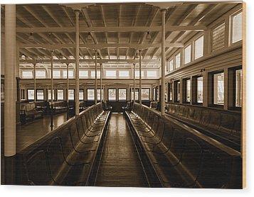Eureka Ferry Wood Print