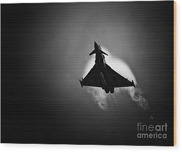 Eurofighter Typhoon Wood Print by Rastislav Margus