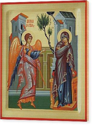 Evanghelismos Wood Print by Daniel Neculae