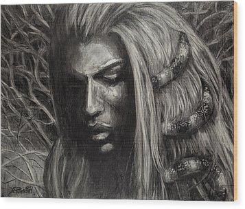 Eve Wood Print by Jason Reinhardt