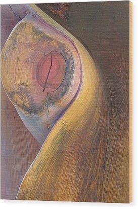 Eve Wood Print by Michael Semsch