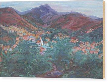 Evening In Guanajuato Wood Print