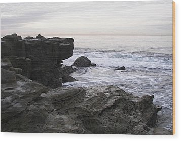 Wood Print featuring the photograph Evening Light by Carol  Bradley