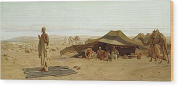 Evening Prayer In The West Wood Print by Frederick Goodall
