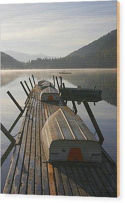 Evening Rentals Wood Print