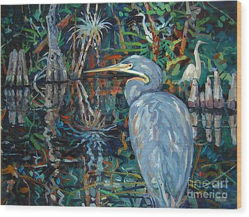 Everglades Wood Print by Donald Maier
