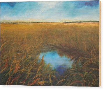 Everglades Wood Print by Michele Hollister - for Nancy Asbell
