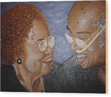 Everlasting Love Wood Print by Keenya  Woods
