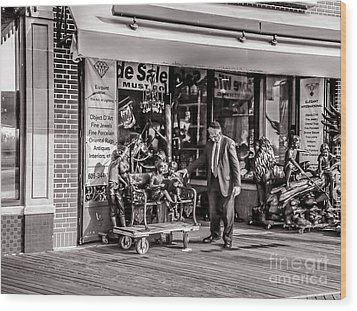 Everything Must Go Wood Print by Claudia M Photography