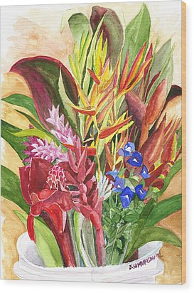 Everywhere There Were Flowers Wood Print by Eric Samuelson