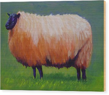 Ewe Are  Beautiful Wood Print by Marie Hamby