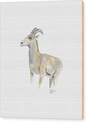 Ewe Wood Print