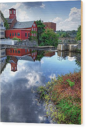 Exeter New Hampshire Wood Print