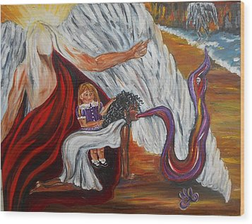 Exorcismo Wood Print