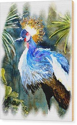 Exotic Bird Wood Print by Steven Ponsford