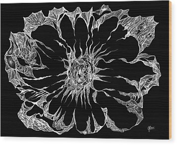 Expanded Consciousness Wood Print by Charles Cater