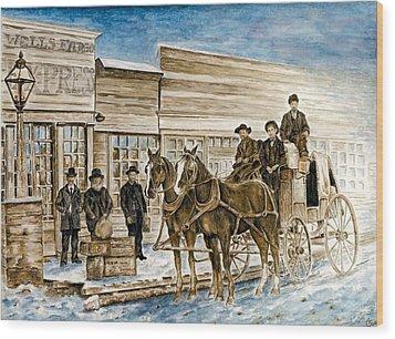 Expressly Western Wood Print