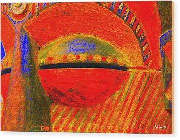 Eye C U Wood Print