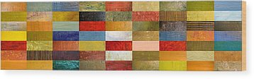 Eye Candy Wood Print by Michelle Calkins