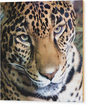 Eye Of The Leopard Wood Print