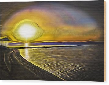 Wood Print featuring the photograph Eye Of The Sun by Scott Carruthers