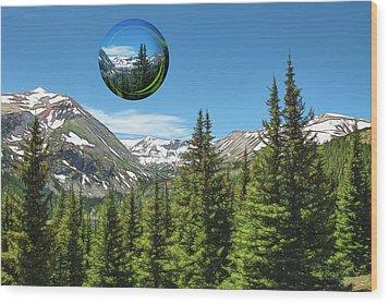 Eye On Summit County Wood Print