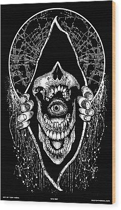 Eye See Wood Print