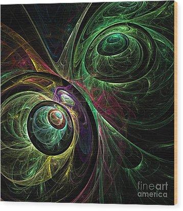 Eye To Eye Wood Print by Oni H