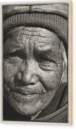 Eyes Of Soul 2 Wood Print by Skip Nall