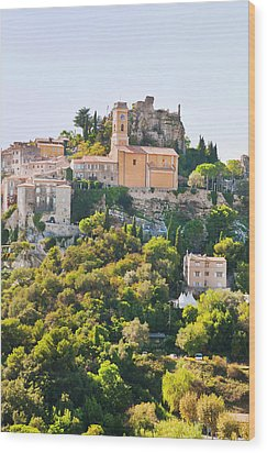 Eze, Cote D'azur, France Wood Print by John Harper