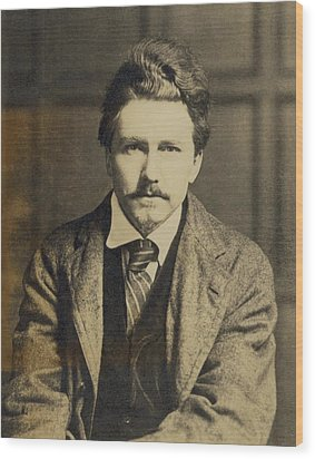 Ezra Pound 1885-1972, In The 1920s Wood Print by Everett