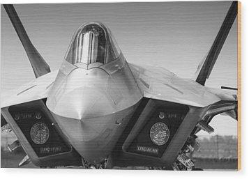 F22 Raptor Wood Print
