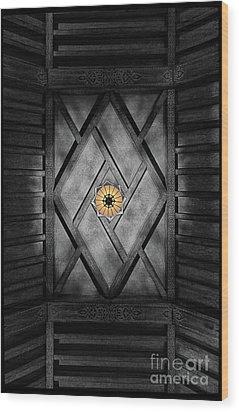 Fabulous Fox Theater Atlanta Ceiling Detail Wood Print