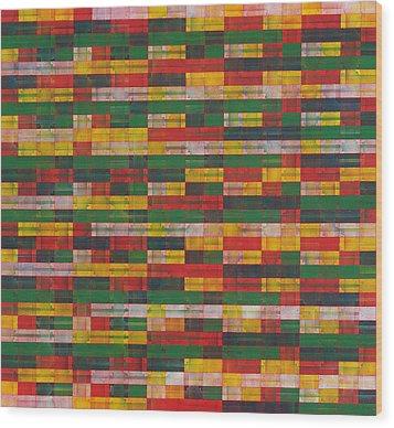 Fac5-horizontal Wood Print by Joan De Bot