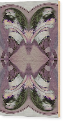 Fading Four Directions Memorized - Something For Sarah Centerville 2015 Wood Print by James Warren