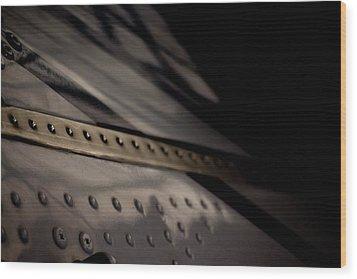 Wood Print featuring the photograph Faiding Away by Paul Job