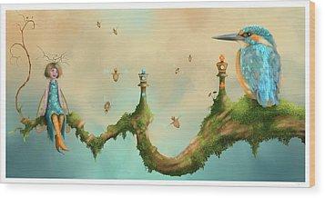 Fairy Chess Wood Print