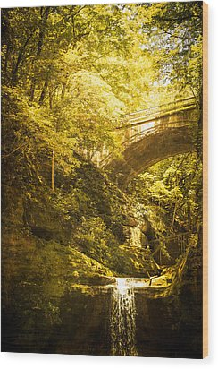 Fairyland In Matthiessen Wood Print