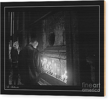 Wood Print featuring the photograph Faith 2 by Arik Baltinester