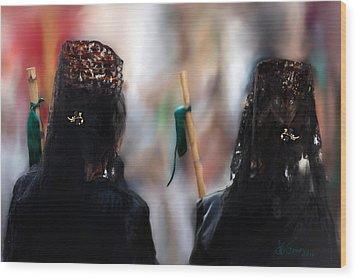 Wood Print featuring the photograph Faith by Juan Carlos Ferro Duque