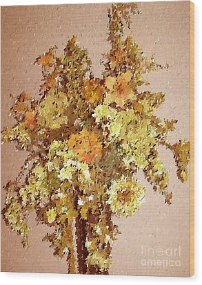 Fall Bouquet Wood Print by Don Phillips
