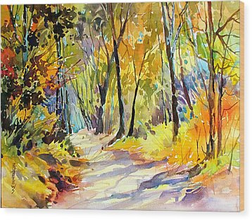 Fall Dazzle, Tennessee Wood Print