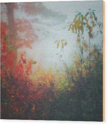 Fall Magic Wood Print